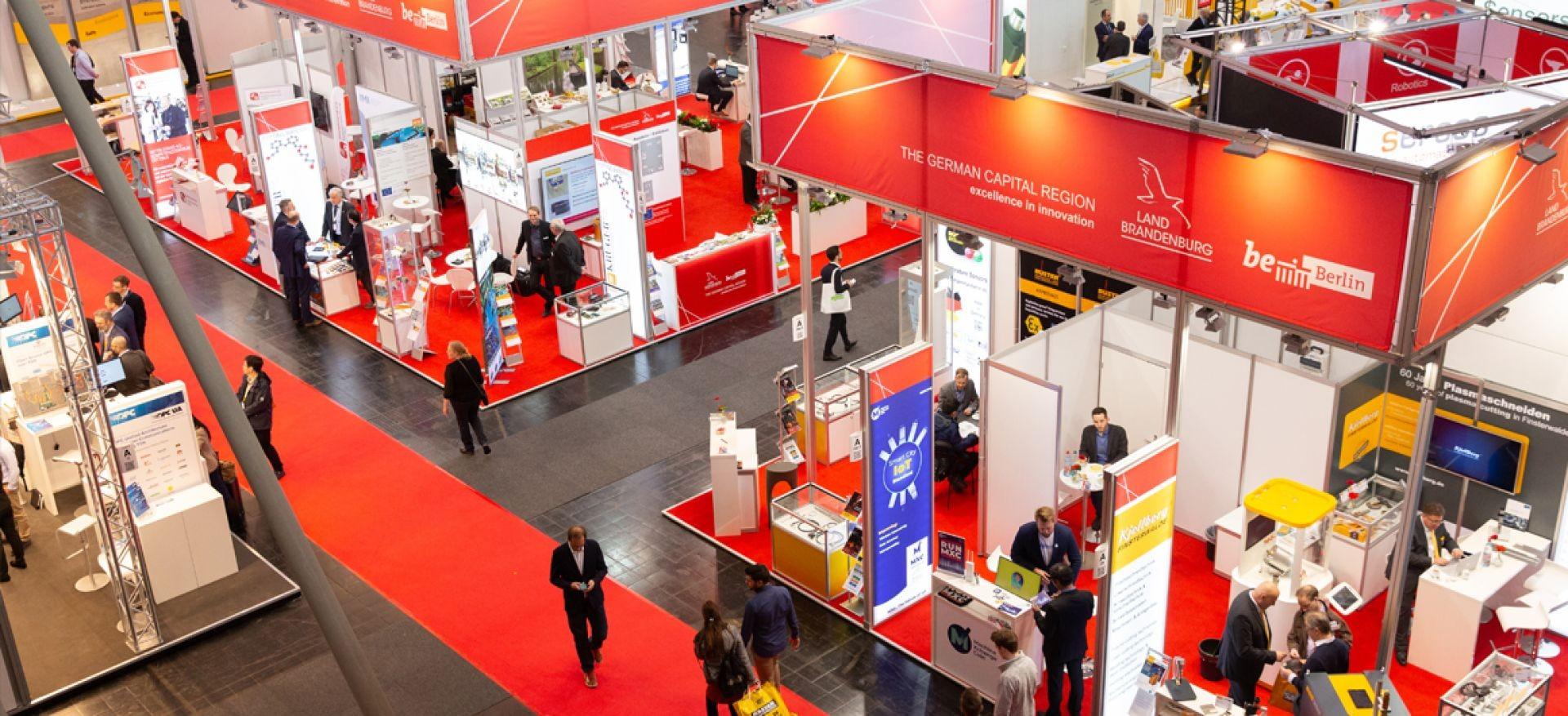 Firmengemeinschaftsstand Berlin-Brandenburg © IHK Cottbus