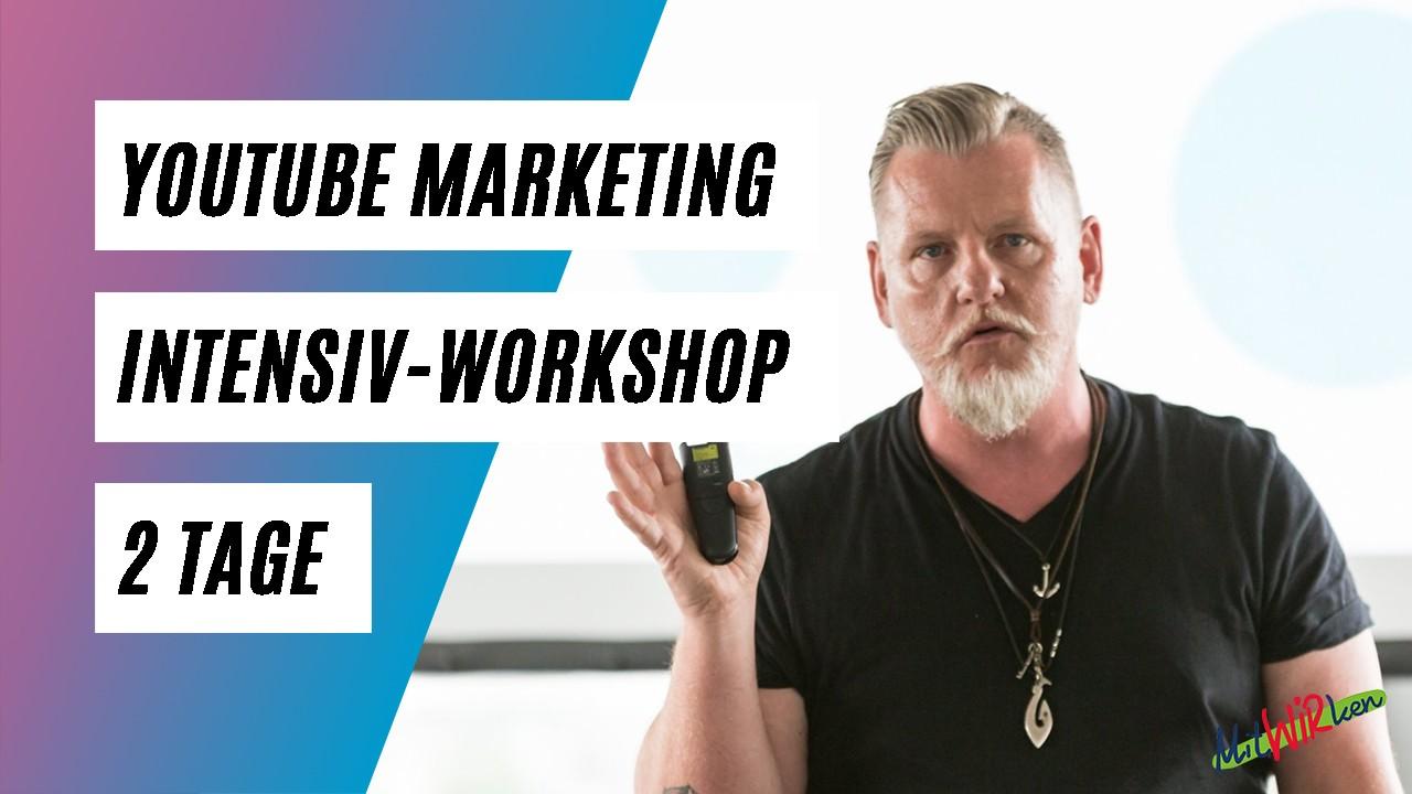 YouTube Marketing Intensiv-Workshop