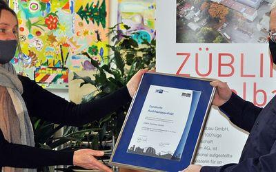 Züblin Stahlbau GmbH trumpft mit stahlharter Ausbildungskompetenz