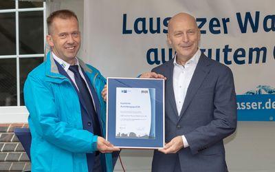 Auszeichnung der LWG für exzellente Ausbildungsqualität