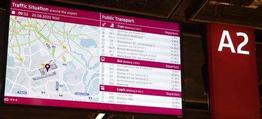 Flughafenanbindung mit den öffentlichen Verkehrsmitteln