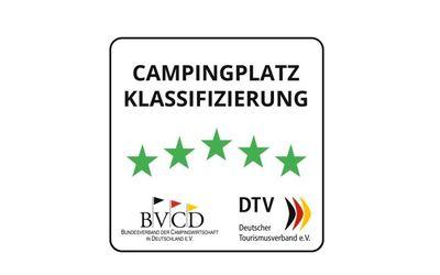 Campingplatz Sterne des DTV und BVCD