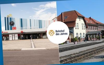 Cottbuser Hauptbahnhof ist Bahnhof des Jahres