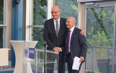 Dankende Worte an Peter Kopf von Ministerpräsident Dietmar Woidke