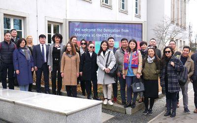 Delegation aus der Mongolei zu Gast