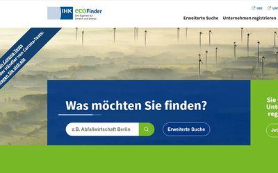 Eco-finder - Deutschlands größtes Portal für die Umwelt- und Energiebranche.