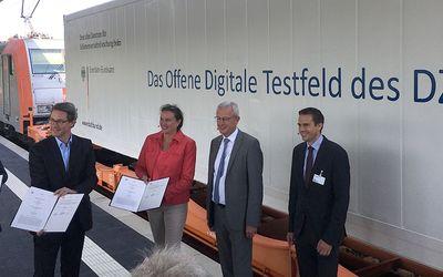IHK Cottbus begrüßt Startschuss für digitales Testfeld der Deutschen Bahn