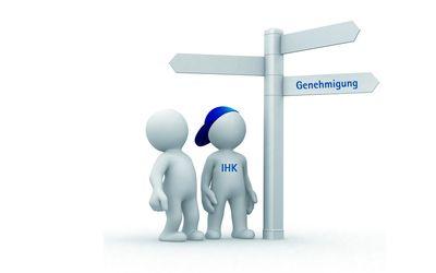IHK-Genehmigungslotse