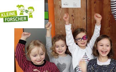Kinder der Fröbel-Kita Otti 2 in Cottbus sind jetzt offizielle Nachwuchsforscher