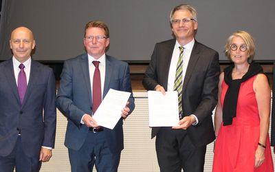 Kooperationsvereinbarung zwischen WRL und iRL