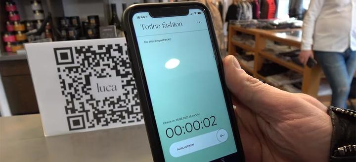 LUCA-App - Kontaktverfolgung via Smartphone