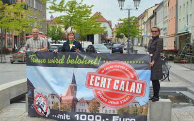 """Marketingkampagne """"Echt Calau"""" stärkt Innenstadt nach dem Shutdown"""