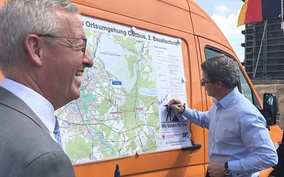 Ortsumfahrung Cottbus: Dritter Bauabschnitt endlich in Planung!