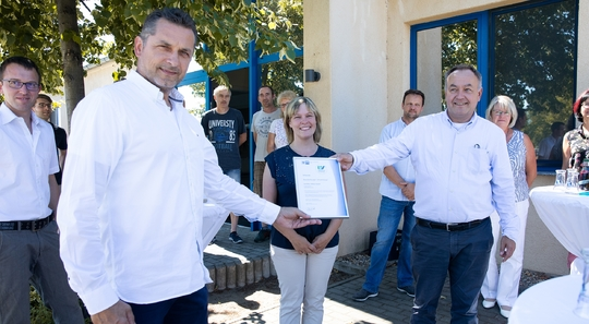 Ausgezeichnet: Schiffler Möbel ist Umweltpartner für Brandenburg