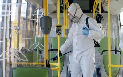 Schutzausrüstung, Medizinprodukte, Arbeitsschutz und Desinfektion