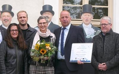 Siegerpreis der City-Offensive für Finsterwalder Stempelfieber-Aktion