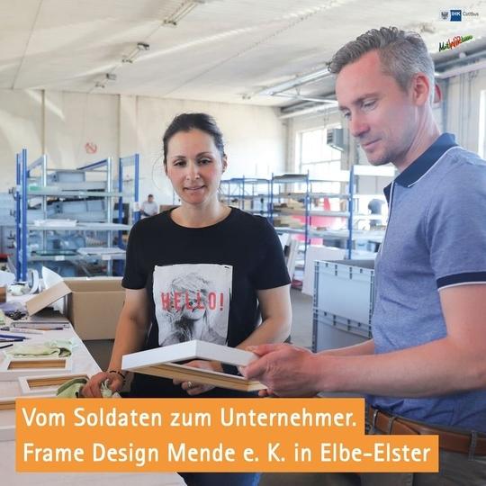 Zusammenhalt wird bei Frame Design Mende e.K.